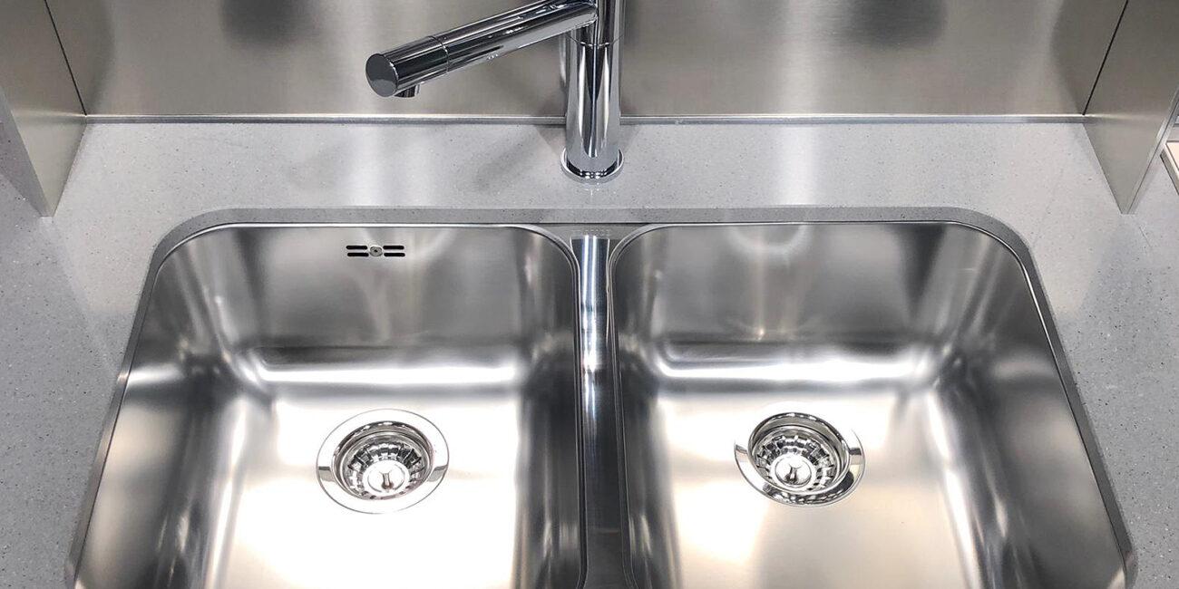 classic: doppio lavello cucina
