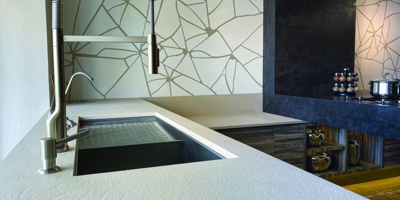 craken: cucina white grey