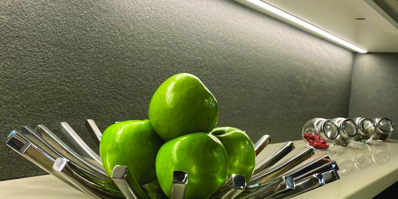 materia: cucina stile grigio milano rocface