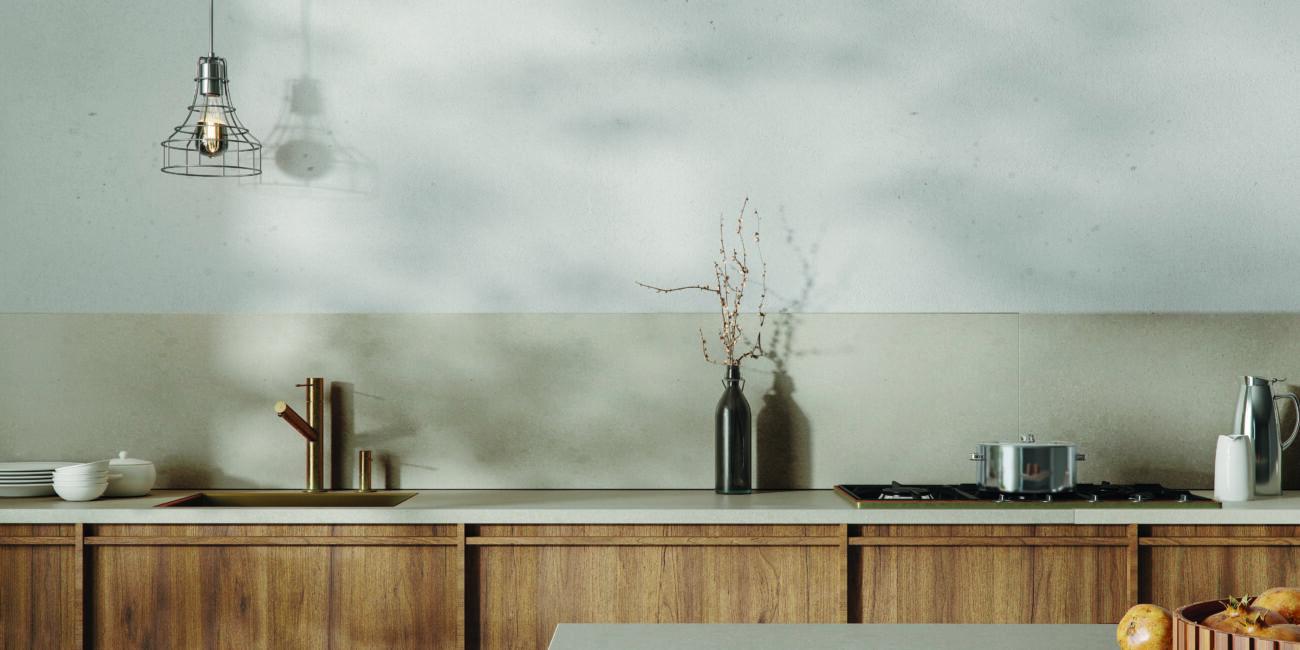 meteor: piano lavoro cucina rustica