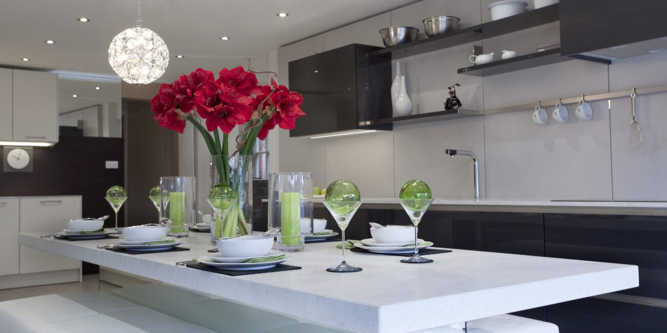 kstone: cucina in grain chiaro