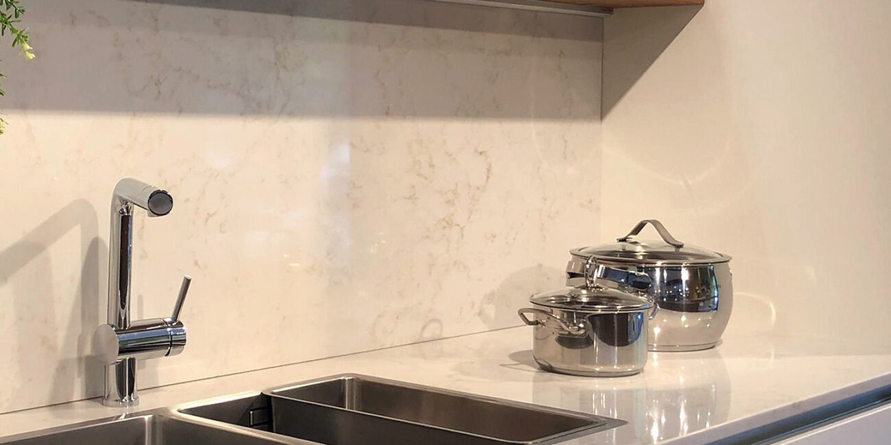 marmorea: cucina ambra gloss