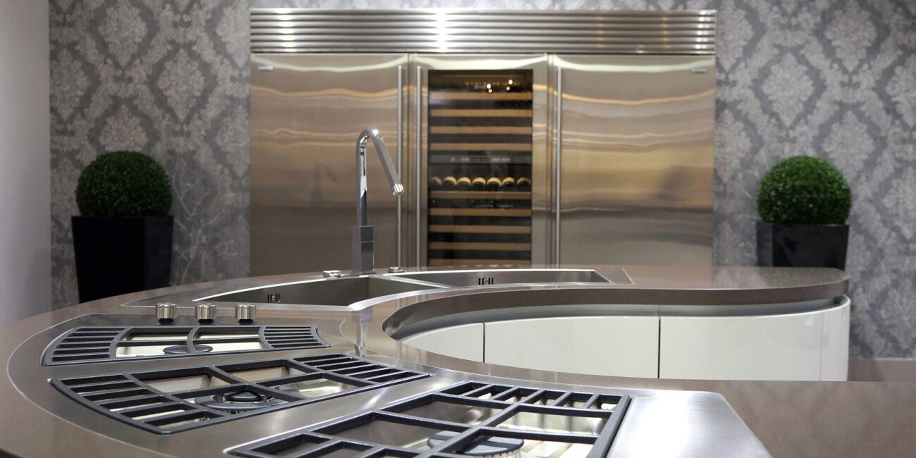micro: cucina curva