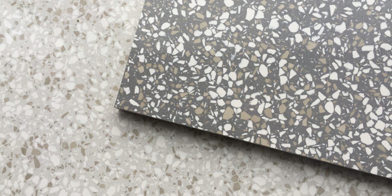 terrazzo: colore materiali grain