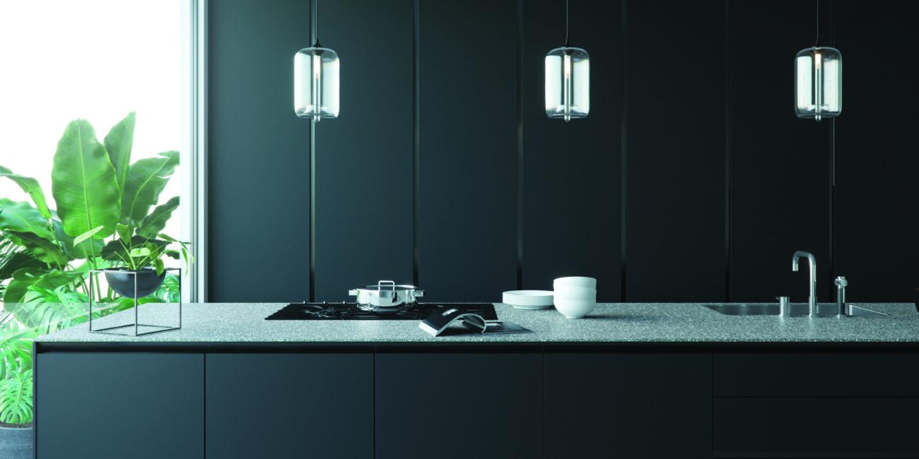 terrazzo: cucina stile grey grain